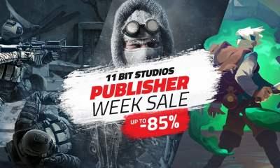 Humble 11 Bit Studios publisher sale