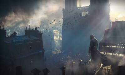 Ubisoft Notre-Dame Assassins Creed Unity concept art