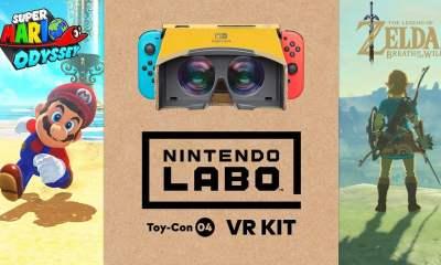 Nintendo Labo VR: Mario and Zelda