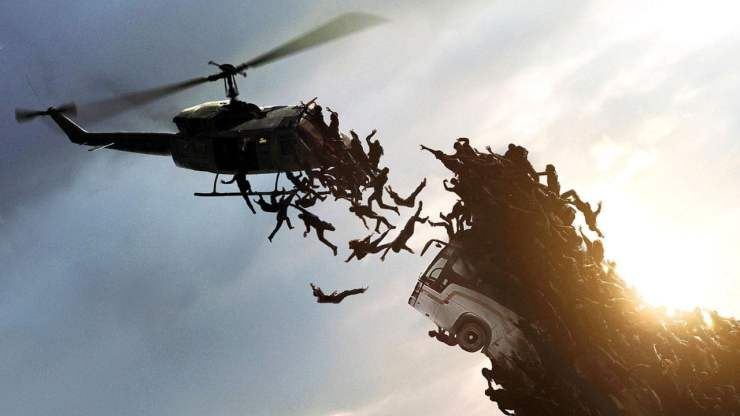world war z movie helicopter