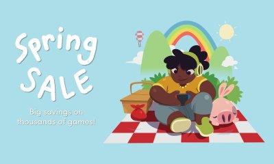 Humble Spring Sale logo