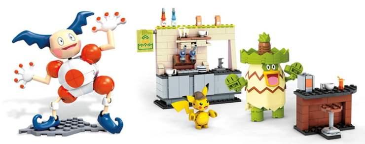 Pokémon Detective Pikachu Mega Bloks