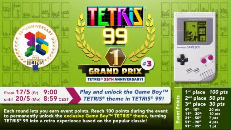 Tetris 99 Game Boy Theme