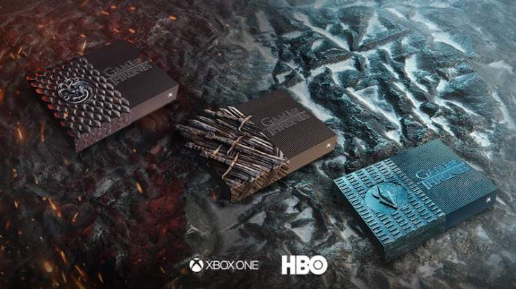 Xbox One Game of Thrones consoles