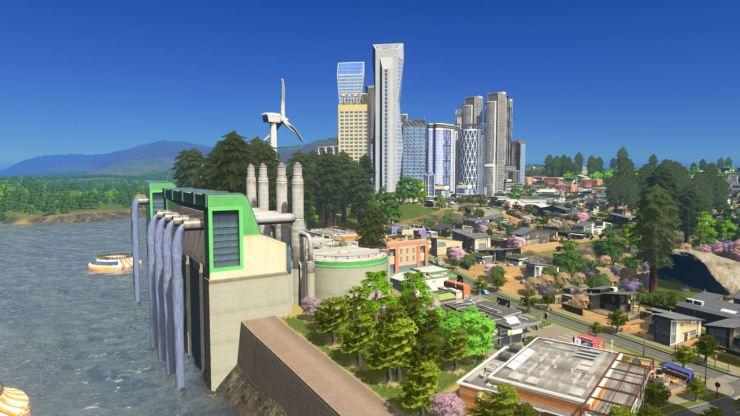 cities skylines green cities turbine