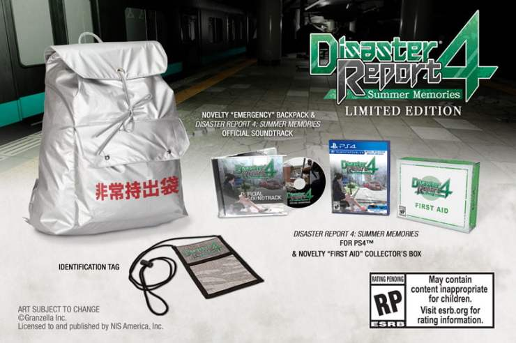 Disaster Report 4 limited edition