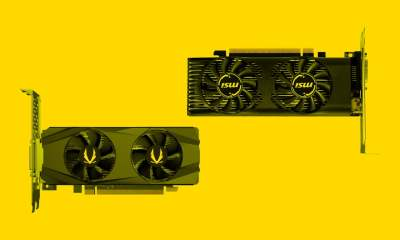 low-profile GTX 1650 graphics cards Zotac MSI