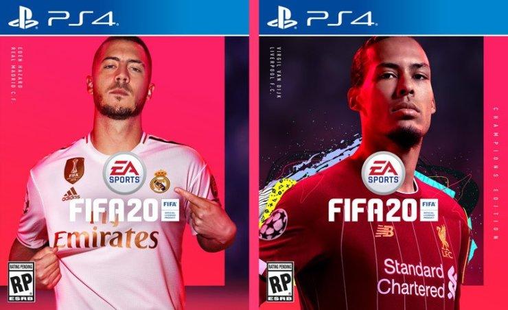 FIFA 20 cover stars