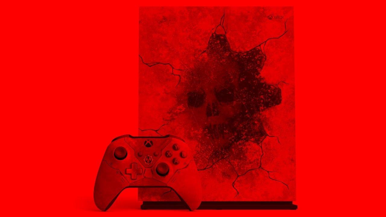 Microsoft announces limited edition Gears 5 Xbox One X bundle