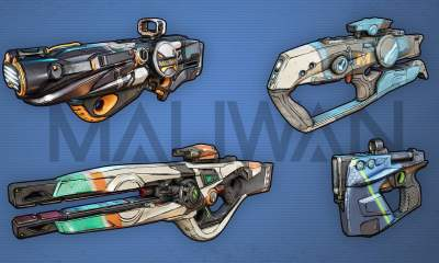 Borderlands 3 weapons