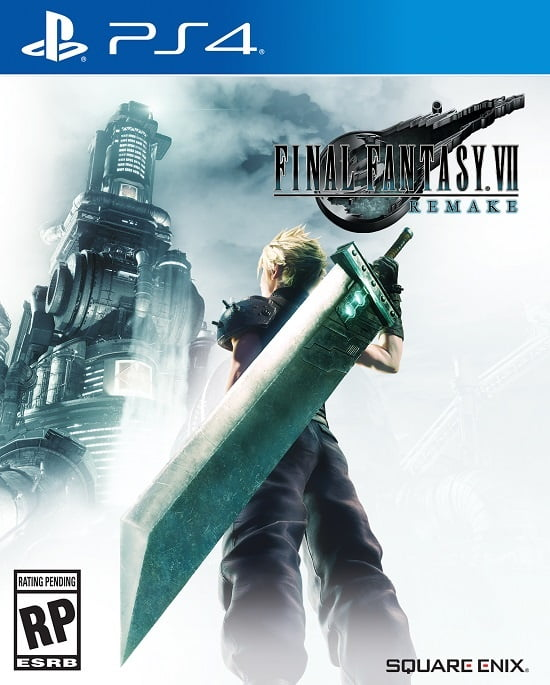 Final Fantasy VII Remake box art
