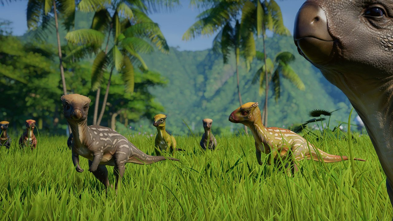 The Jurassic World Evolution: Herbivore Dinosaur DLC is out now - Thumbsticks