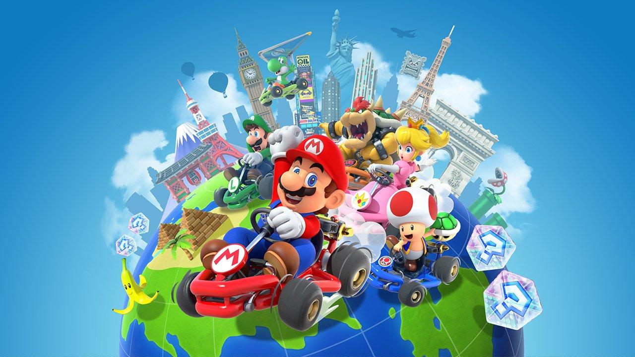 Report: Mario Kart Tour races to 90 million downloads