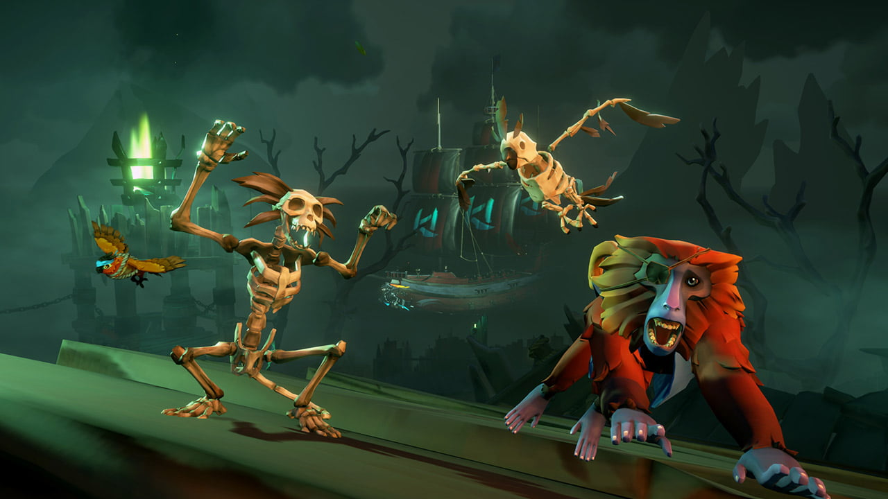 Skeletons take over Sea of Thieves for Halloween