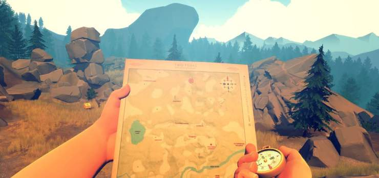 games of the decade Firewatch