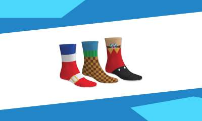 Sega Black Friday sale - Sonic the Hedgehog socks