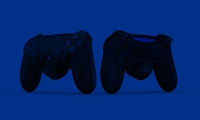 PS4 DualShock 4 controller back button