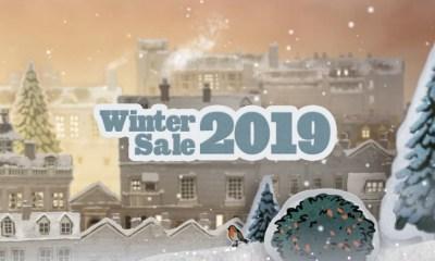 Steam Winter Sale 2019 header