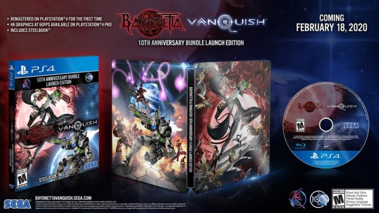Bayonetta and Vanquish bundle