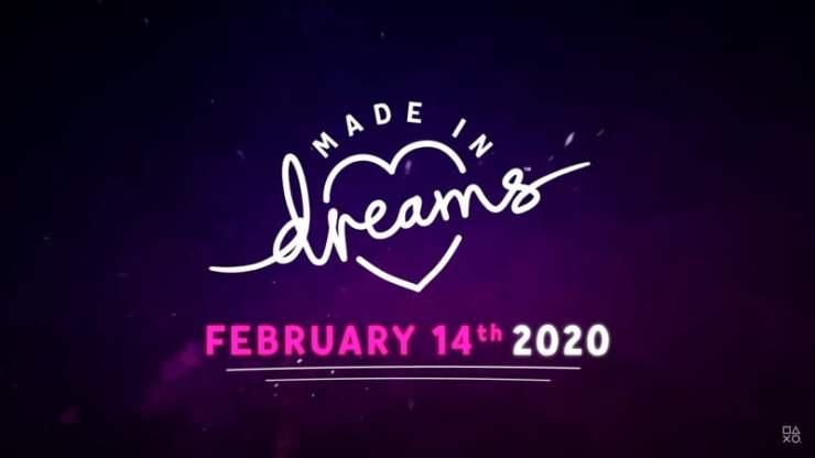 Dreams - PS4 release date