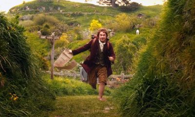 Bilbo Baggins going on an adventure