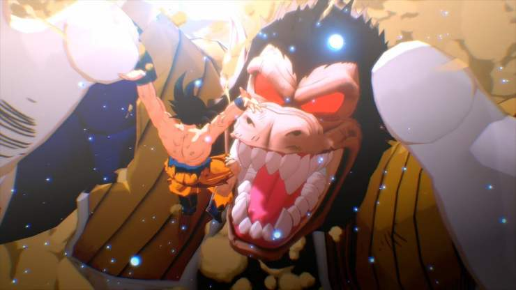 Dragon Ball Z Kakarot giant space monkey