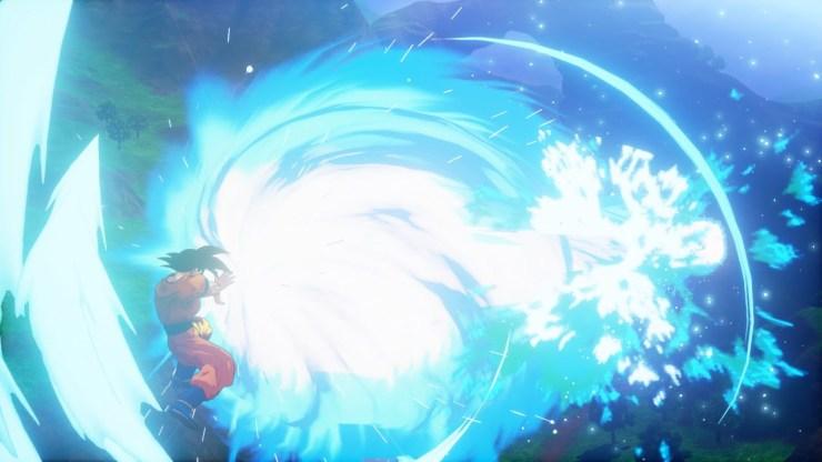 Dragon Ball Z Kakarot super kamehameha