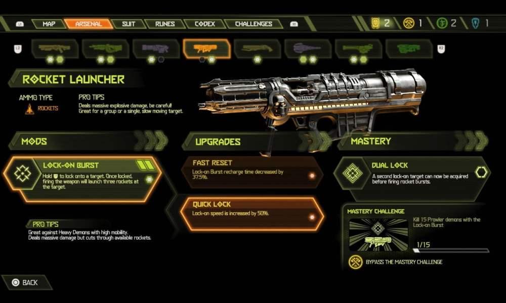 Doom Rocket Launcher Mod
