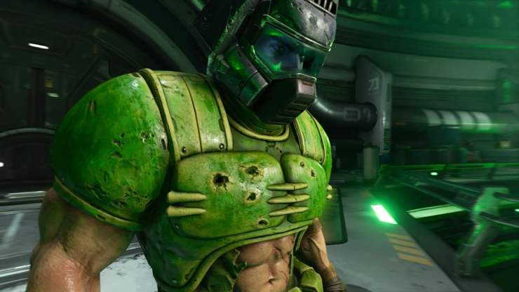 Doom Eternal sexy abs