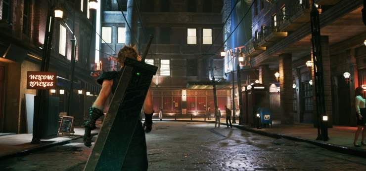 Final Fantasy VII Remake sector 1