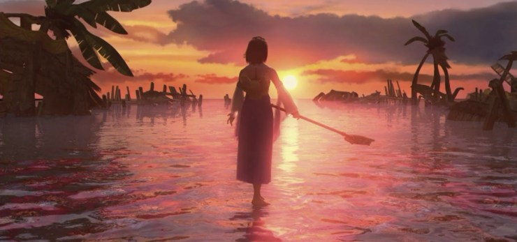 Final Fantasy X sunset