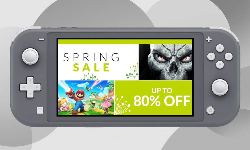 Save up to 80% in the Nintendo eShop Spring Sale