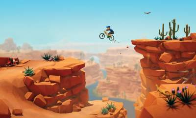 Lonely Mountains Downhill Nintendo Switch review