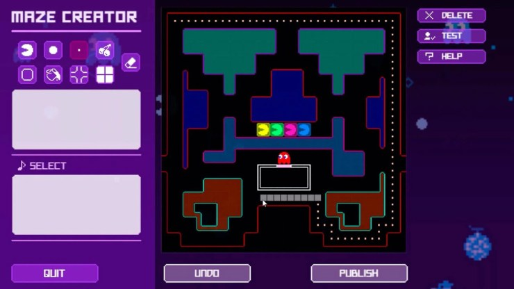 Pac-Man Live Studio Screenshot