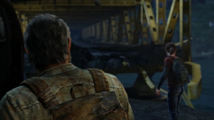 The Last of Us Joel Ellie broken bridge