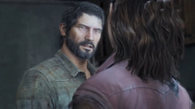 The Last of Us Joel and Tess