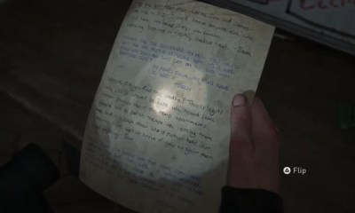 The Last of Us Part II apartment 302 safe code note