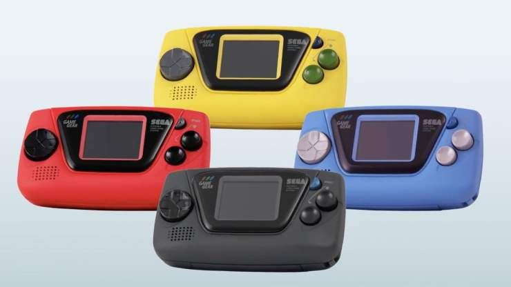 Game Gear Micro - Four Colours
