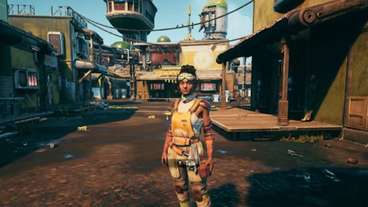 The Outer Worlds - Nintendo Switch screenshot