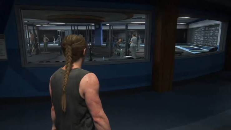 the last of us part ii abby gym