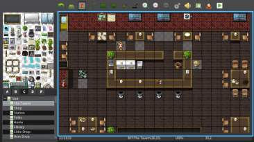 RPG Maker map editor