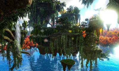 Ark: Survival Evolved's Crystal Isles expansion