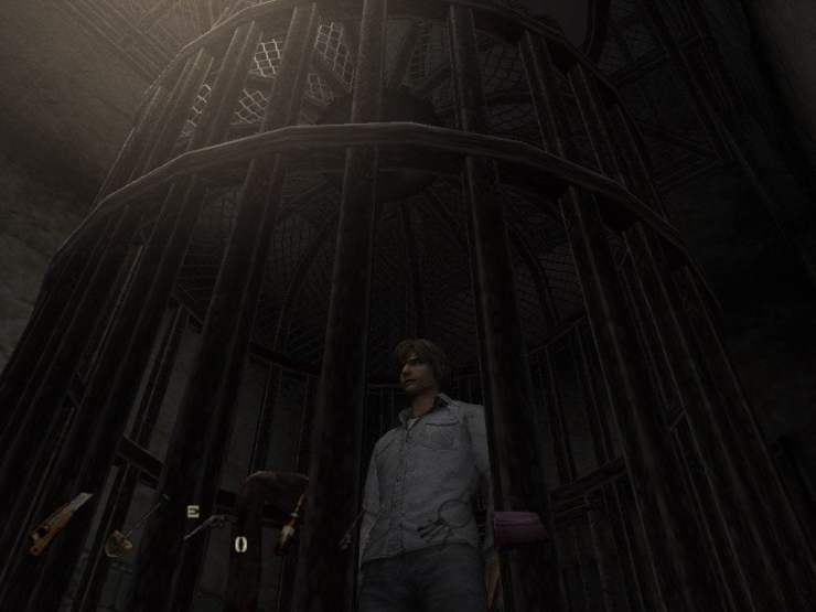Silent Hill 4 cage