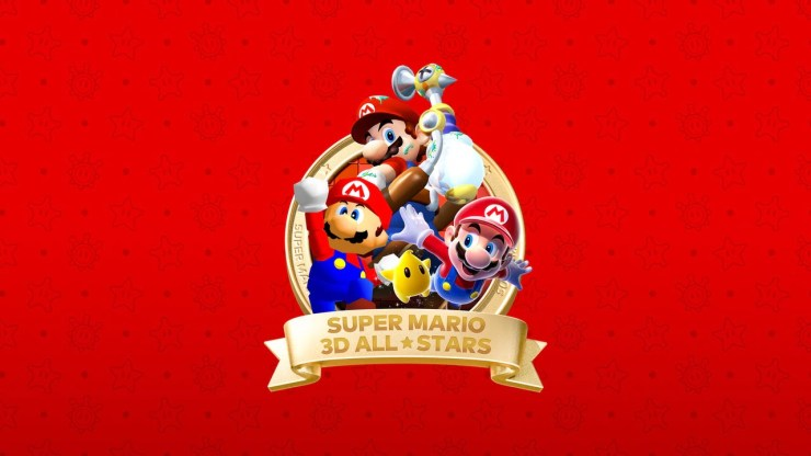 Mario 3D All-Stars artwork