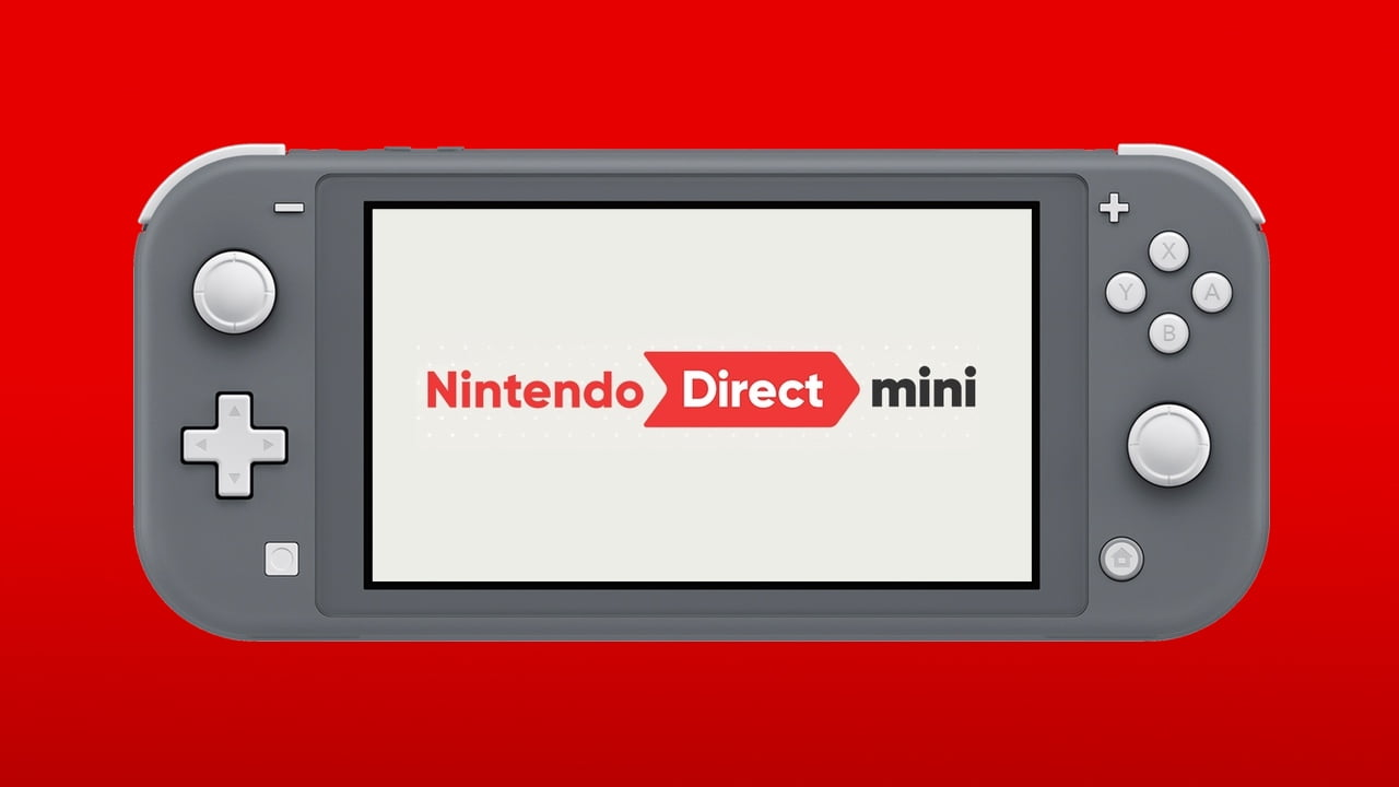 Surprise! Here's a brand new Nintendo Direct Mini