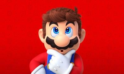 Nintendo - Super Mario thinking