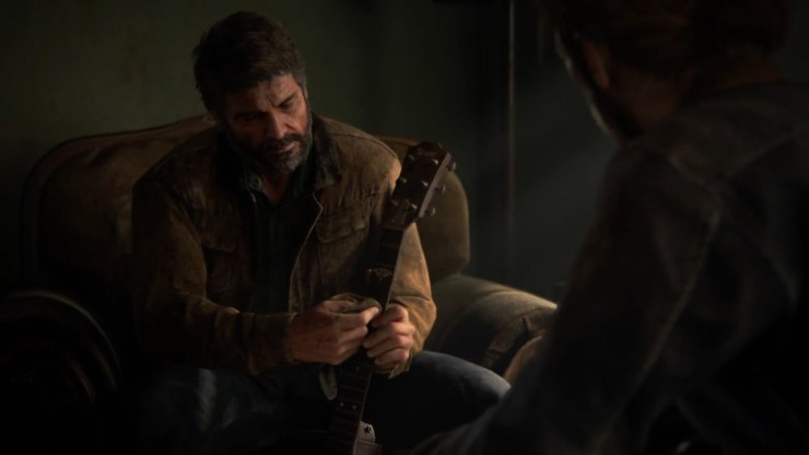 The Last of Us Part II Joel Tommy guitar