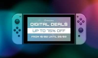 Nintendo Switch eShop Digital Deals sale