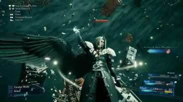 Final Fantasy VII Remake Sephiroth one black wing