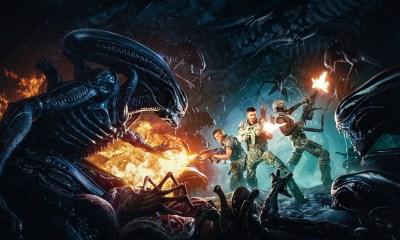 Aliens: Fireteam key art